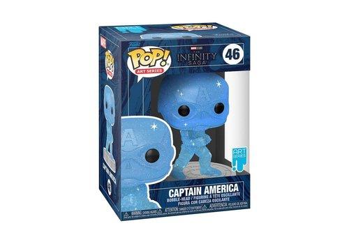 Marvel The Infinity Saga POP! - Captain America (Art Series)