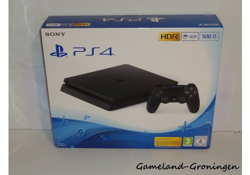 PlayStation 4 Slim 500GB with Controller & Wiring