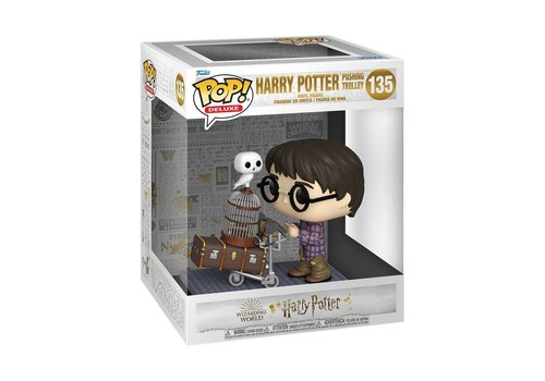 Harry Potter Deluxe POP! - Harry Potter Pushing Trolley 6 Inch