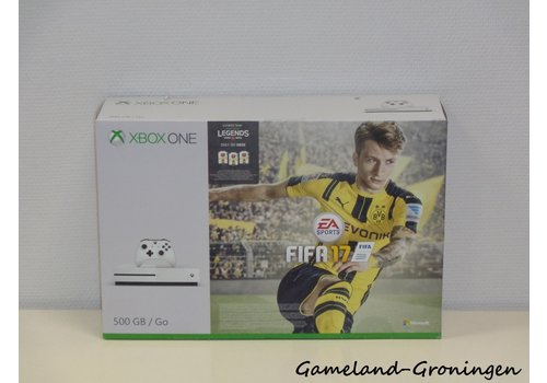 Xbox One S 500GB FIFA 17 Pack met Controller & Bedrading (Wit)
