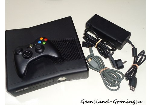 Xbox 360 Slim 4GB  with Controller & Wiring
