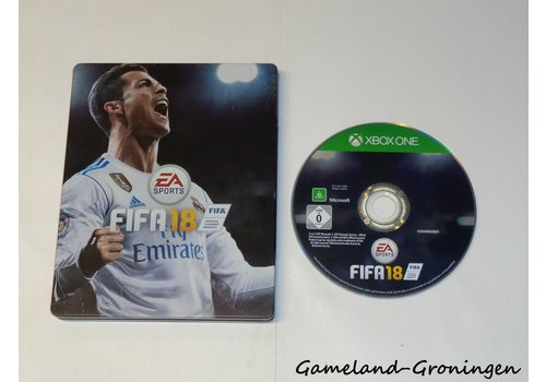 FIFA 18 Steelbook (Compleet)