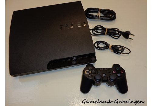 PlayStation 3 Slim 500GB with Controller & Wiring
