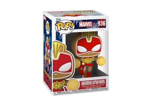 Marvel Holiday POP! - Gingerbread Captain Marvel