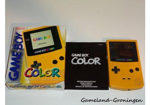 Gameboy Color (Compleet, Geel)