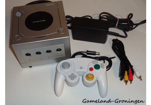 Nintendo GameCube met Controller & Bedrading (Zilver)
