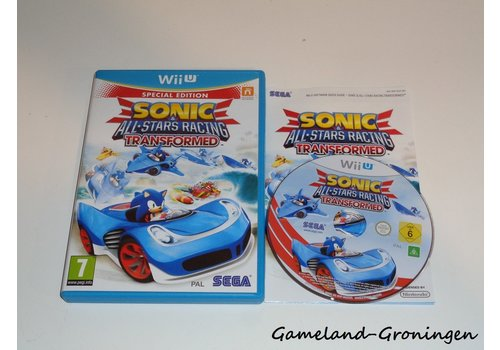 Sonic & All-Star Racing Transformed (Complete, EUR)