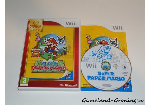 Super Paper Mario (Compleet, Nintendo Selects, FRA)