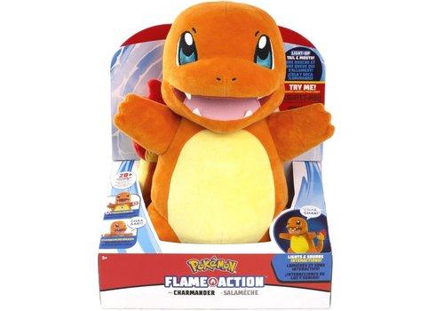 Pokémon - Flame Action Charmander Plush 31 cm