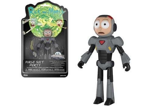 Rick and Morty - Purge Suit Morty Action Figure