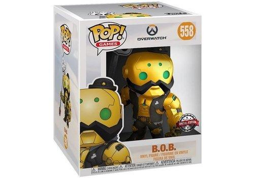 Overwatch POP! - B.O.B. Metallic 6 Inch