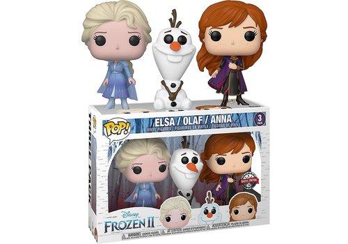 Frozen II POP! - 3-Pack, Elsa, Olaf & Anna
