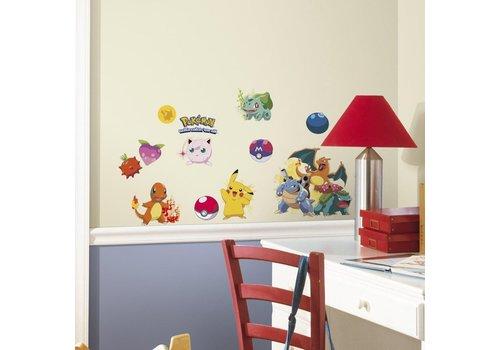 Pokémon - Iconic Wall Stickers 46 x 25 cm