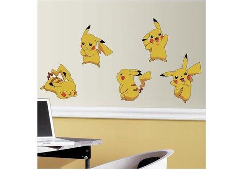 Pokémon - Pikachu Wall Stickers 25 x 46 cm