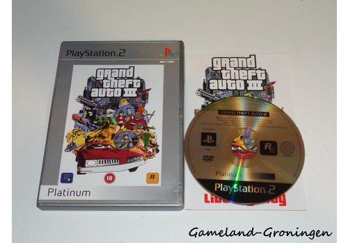 Grand Theft Auto III (GTA) (Compleet, Platinum)
