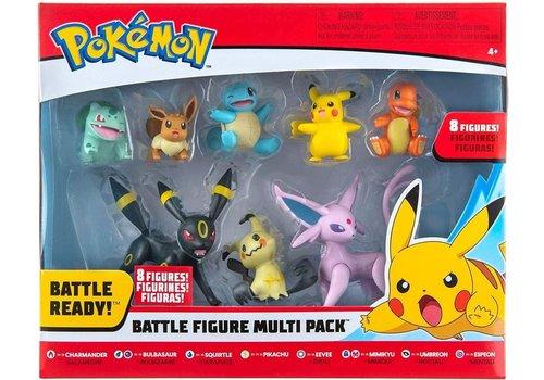 Pokémon - Battle Figures 8 Pack Wave 6