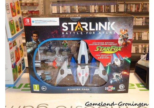 Starlink: Starterpack - Fox McCloud & Arwing (Compleet)