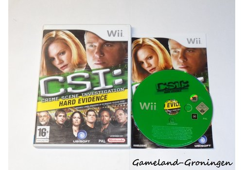 CSI Crime Scene Investigation Hard Evidence (Compleet, HOL)