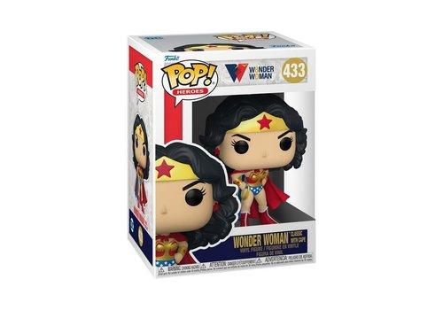 Wonder Woman 80th POP! - Wonder Woman Classic with Cape