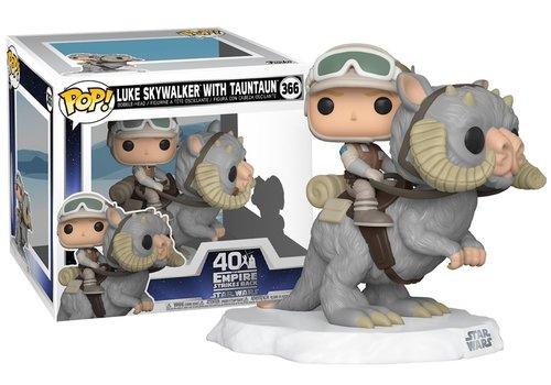 Star Wars Deluxe POP! - Luke Skywalker on TaunTaun