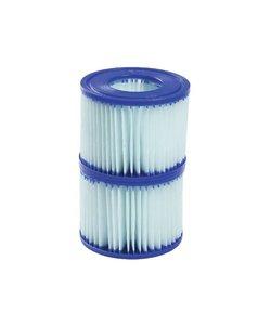Anti Microbial filter type 6 (VI) tbv Lay-Z Spa 2 stuks