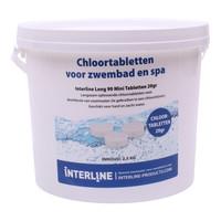 chloortabletten klein 20 gram 2.5 kg