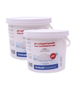 pH Minus poeder 6 kg (zuurgraad verlagen)