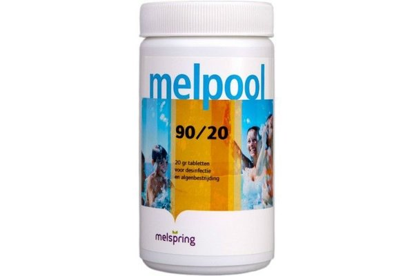 Melpool Chloortabletten 90/20 1 kg