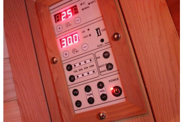 Full Spectrum 4 persoons infrarood hoeksauna