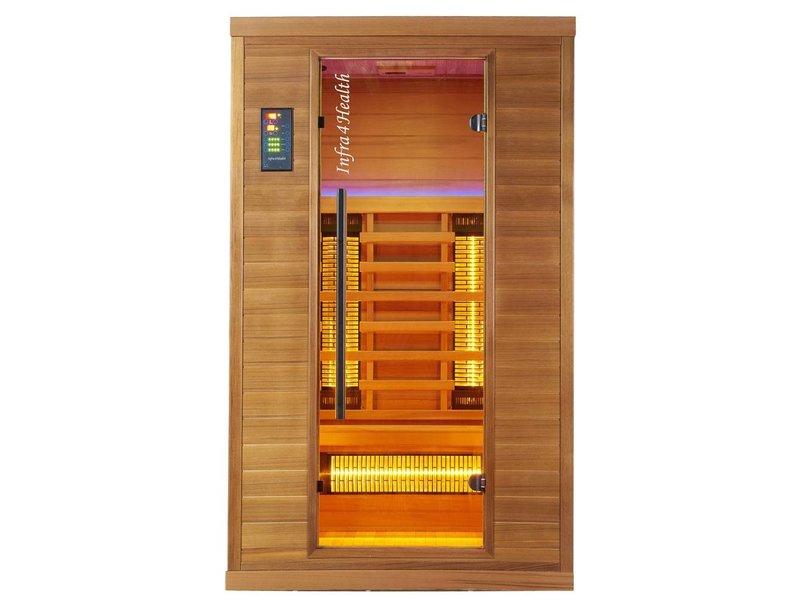 Infra4Health infrarood sauna I120 2 persoons - infra4health