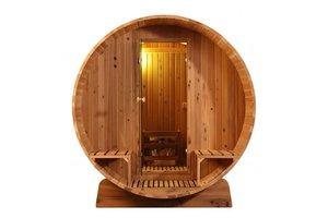 Infra4Health Barrel sauna KNOTTY