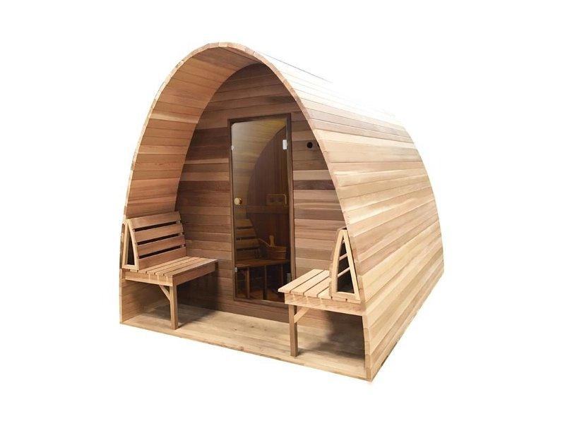Infra4Health Sauna Pod HEMLOCK