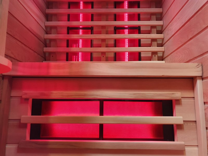 Full Spectrum 2 persoons infrarood sauna