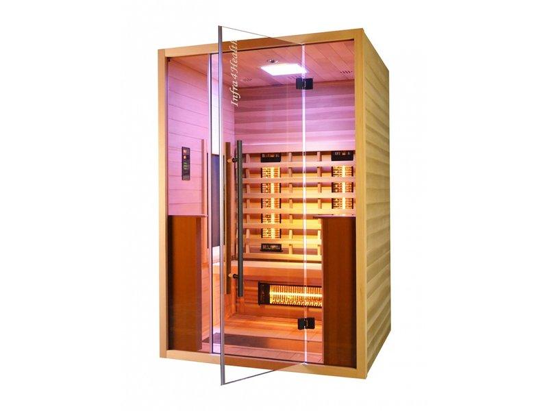 Infrarood sauna Glass Front 130cm