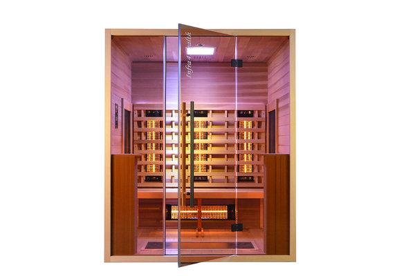 Infrarood sauna Glass Front 160cm