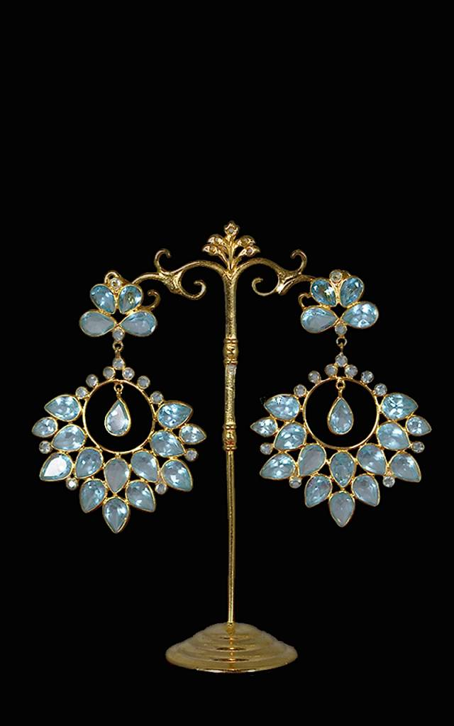 "Ohrstecker ""Fiorella blu"""