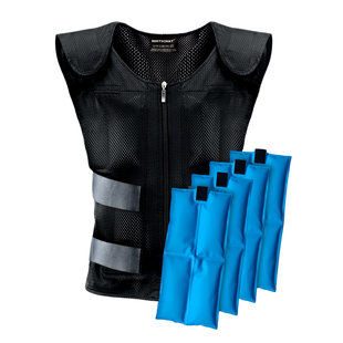 Cooling vest with cooling elements (PCM)