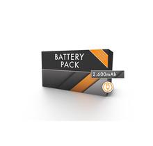 Extra Battery Pack 2.600 mAh    USB-oplaadbaar
