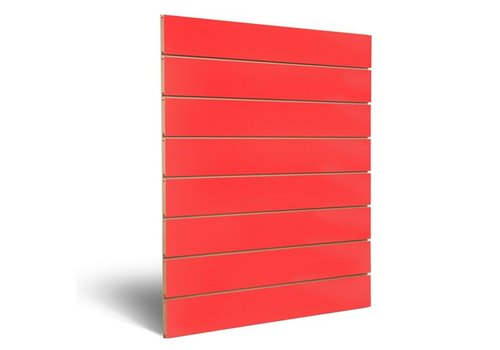 Dizzpanel Slatwall, ROOD,  150 mm