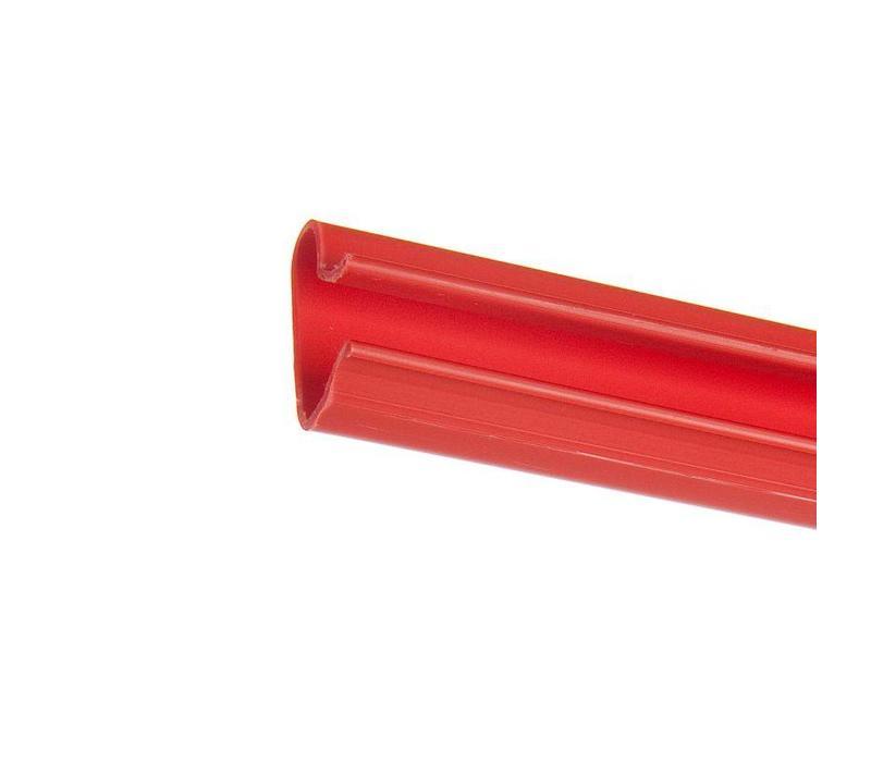 Kunststof inschuifprofiel, L=1200 mm, ROOD
