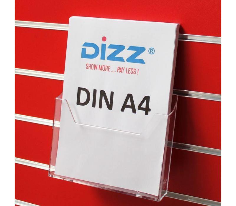 Brochurehouder, DIN A4 portrait