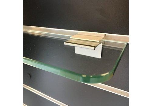 Glasschap, 600x120x8 mm