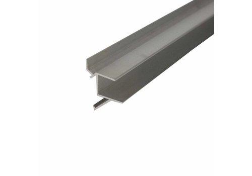 """Schapdrager, """"Blinde bevestiging"""" alu, L=790mm t.b.v. schap 800(b)mm"""