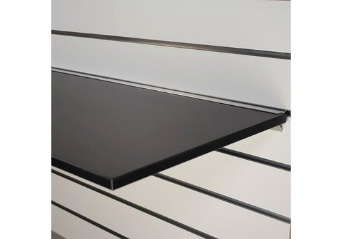 Legplank, 1200x400x18 mm, ZWART