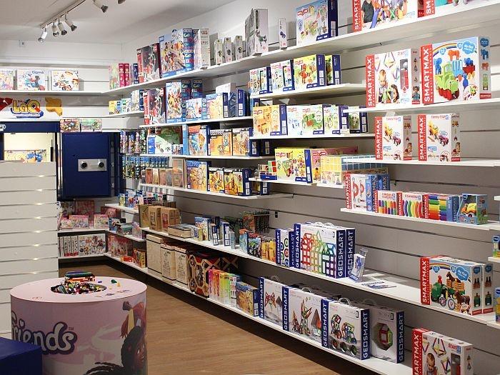 Winkelinrichting speelgoedzaak