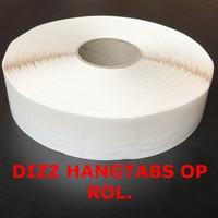 Hang-up Hangtabs, rol 2000 stuks