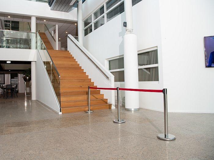 Bezoekersstromen scheiden kantooromgeving