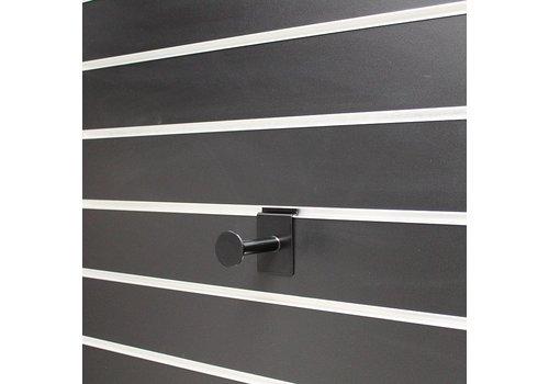 Presentatiestang, L=80 mm, Zwart