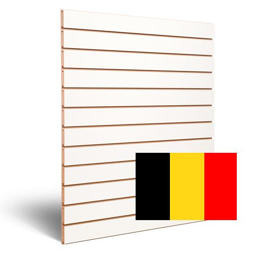 Slatwall wit Belgie