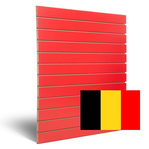 Rode Slatwall Belgie
